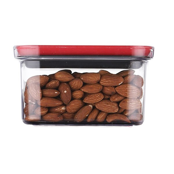 Neoflam Rectangle Pantry Canister with Smart Seal Lid, 28.4 oz.