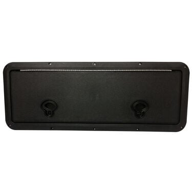 "DPI Marine DPF Black Flush Series Hatch Door, 9"" x 24"" O.D. frame"
