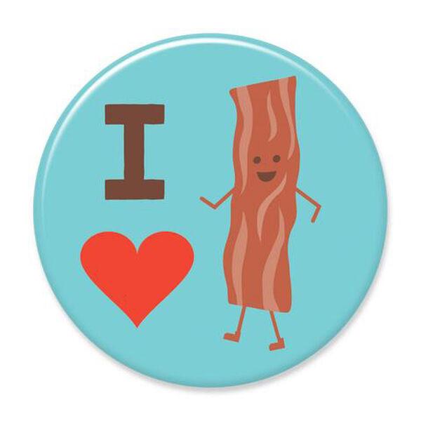 I Heart Bacon Big Magnet