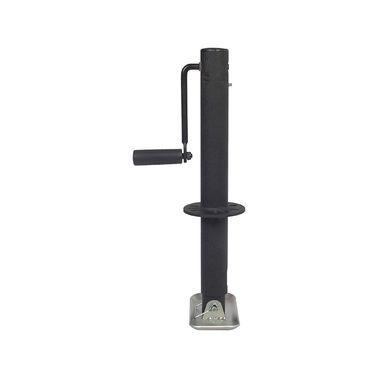 Trailer Valet Blackout Series 2,000 lbs Side Wind A-Frame Center Mount Jack