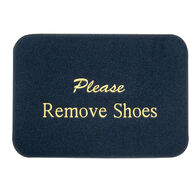 Remove Shoes Boat Mat