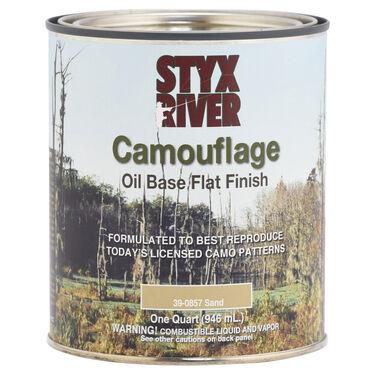 Styx River Camouflage Paint, Quart