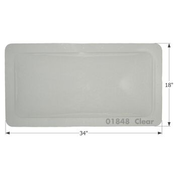 RV Skylight - SL1430C - Clear