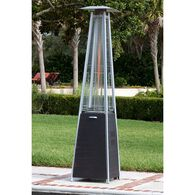 Coronado Brushed Bronze Pyramid Flame Patio Heater