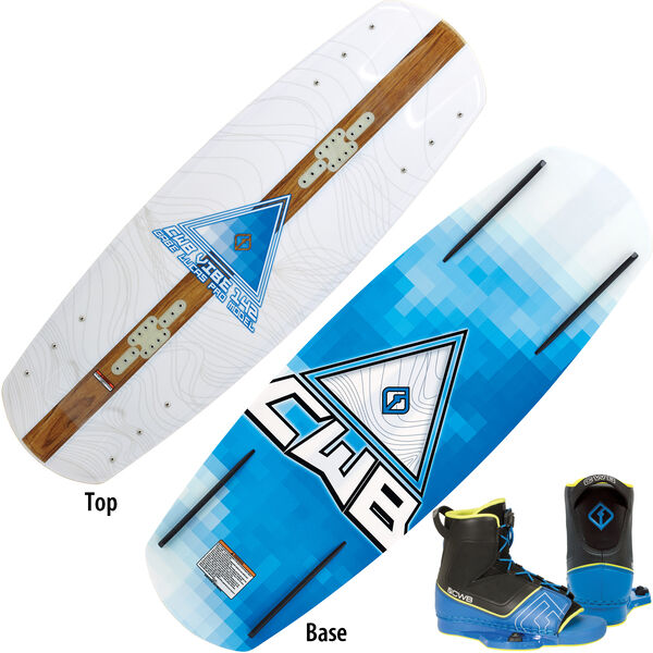 CWB Vibe Wakeboard With Venza Bindings