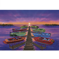 Camping World Christmas Card Collection, Boats at Dock
