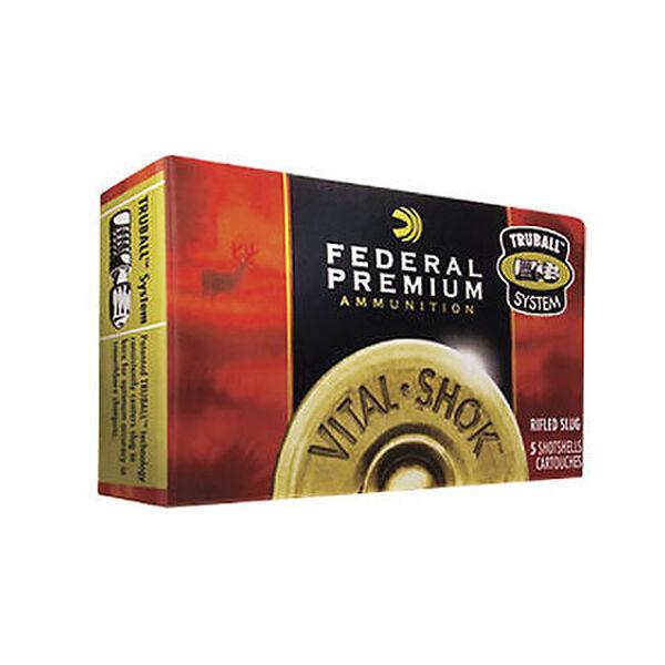 """Federal Premium Vital-Shock TruBall Rifled Slugs, 12-ga., 2-3/4"""", 1-oz."""
