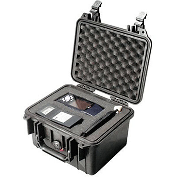 Pelican 1300 Case With Pick 'N Pluck Foam, Black