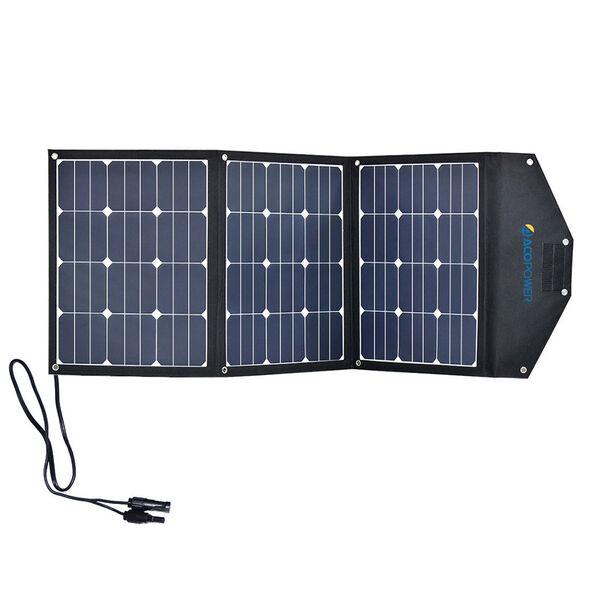 ACOPOWER LTK 105W Foldable Solar Panel Suitcase