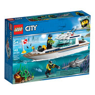 LEGO City Diving Yacht Playset