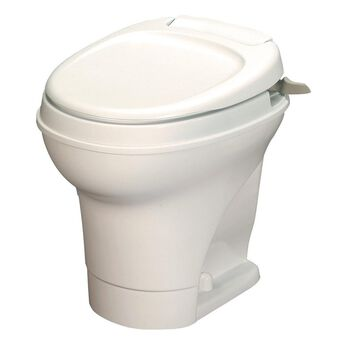Aqua-Magic V Toilet High Profile Hand Flush - Parchment