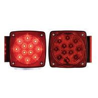 Optronics Square Combination Tail Light Set