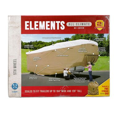 "Elements All Climate RV Cover, Toy Hauler, 20'1"" to 24'"