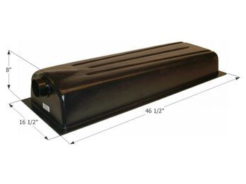 Holding Tank Center End Drain HT706ED, 15 Gallon