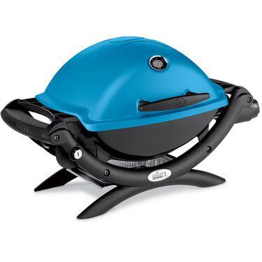 Weber Q 1200 Portable Gas Grill, Blue