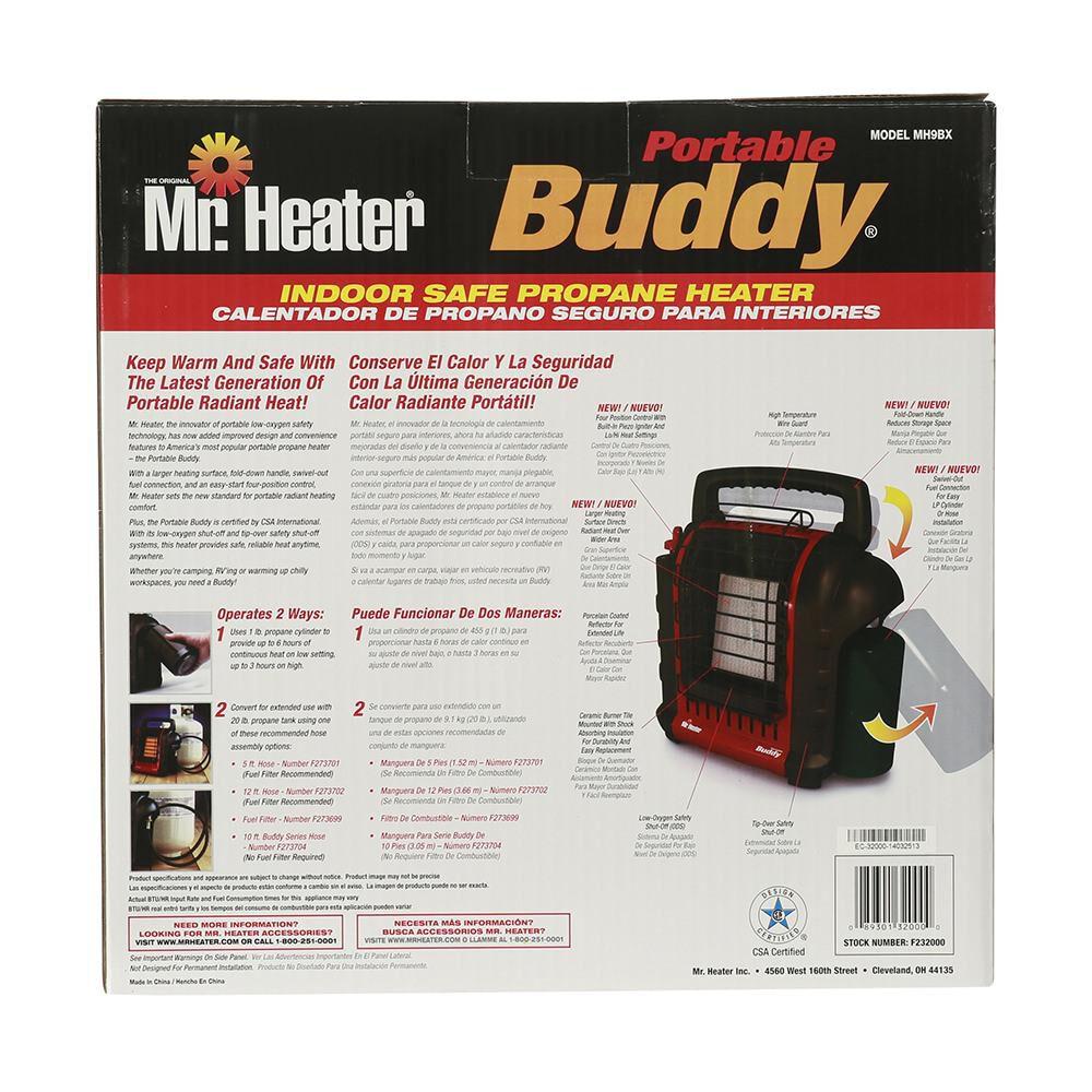 Mr Heater Portable Buddy Heater Camping World