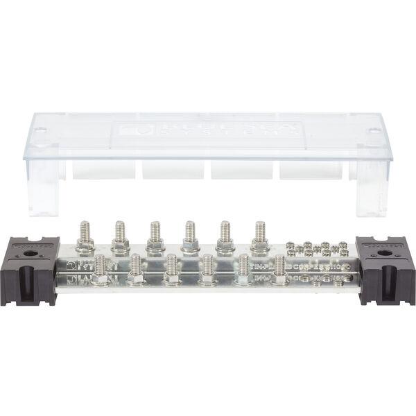 "Blue Sea Systems PowerBar 1000A Common Busbar, 12 x 3/8"" Terminal Studs"