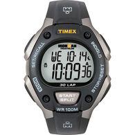 Timex Ironman Triathlon 30 Lap, Black/Silver