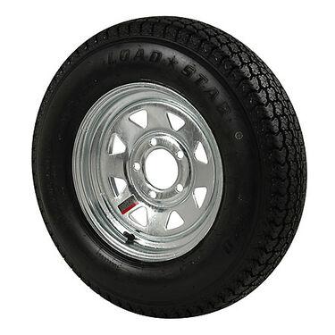 Kenda Loadstar 175/80 x 13B Bias Trailer Tire w/5-Lug Galvanized Spoke Rim