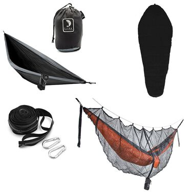 Tribe Provisions Adventure Hammock Kit, Black/Black