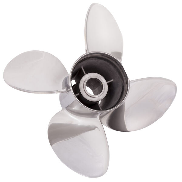 Solas Rubex HR4 4-Blade Propeller, Exchangeable Hub / SS, 14.13 dia x 19, LH