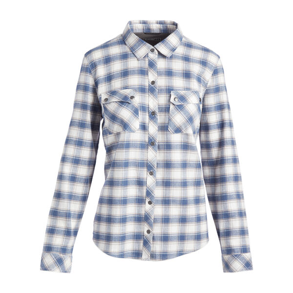 Hi-Tec Women's Abyss Plaid Flannel Long-Sleeve Shirt