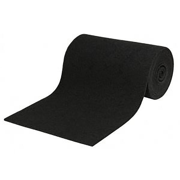 "Smith Black Marine-Grade Carpet Roll, 12'L x 11""W"