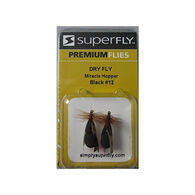 Superfly Miracle Hopper Nymph Fly, 2-Pack