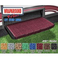 "Wraparound Plus RV Step Rug, 20"", Burgundy Wine"