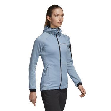Adidas Women's Terrex Stockhorn Fleece Full-Zip Hoodie