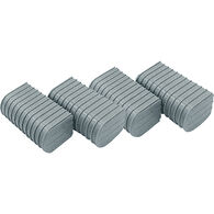 """Caliber 6"""" End Caps for Bunk Wrap Kit - Gray, 24-Pack"""