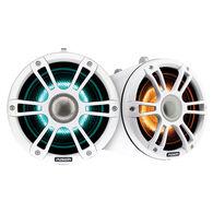 "FUSION 8.8"" Wake Tower Speakers w/CRGBW LED Lighting - White"