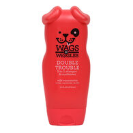Wags & Wiggles Double Trouble 2-in-1 Shampoo & Conditioner, Wild Watermelon, 16 oz.