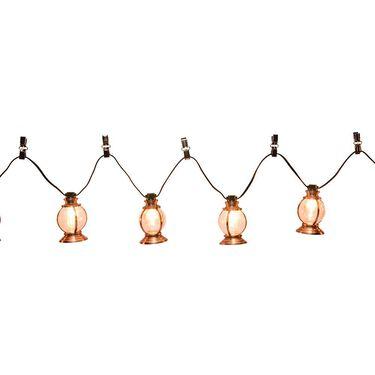 Copper Lantern Lights