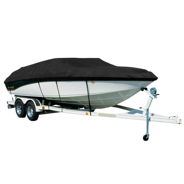 Exact Fit Covermate Sharkskin Boat Cover For Bryant Speranza W/Factory Tower Pro T Rear Ladder