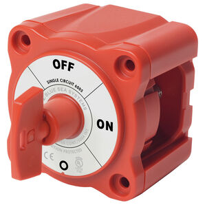 Blue Sea m-Series 6005 Battery Switch, Single Circuit w/Key