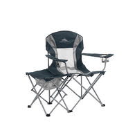 High Sierra Oversized Folding Chair with Side Table