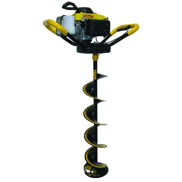 """Jiffy 4G Gas-Powered 4-Stroke Ice Auger with 8"""" Stealth STX Drill Assembly"""