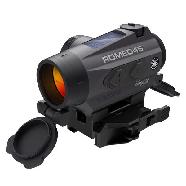 SIG Sauer 1x20 ROMEO4S Red Dot Sight, 1-MOA Red Dot Ballistic CirclePlex Reticle