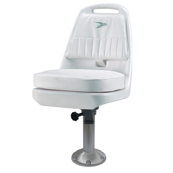 Wise Standard Pilot Chair With Fixed Pedestal, Spider Mounting Plate