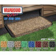 """Wraparound +Plus RV Step Rug, 20"""" Brown"""