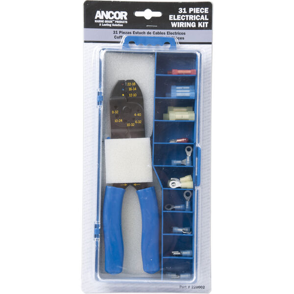 Ancor 30 Piece Premium Connector Kit With Crimp Tool