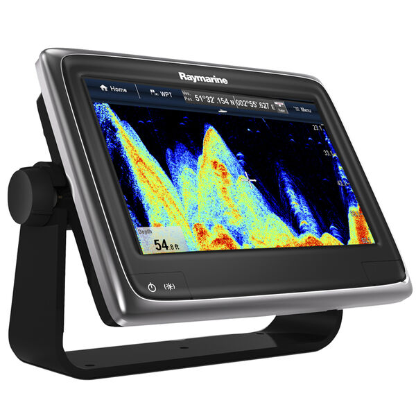 "Raymarine a97 9"" Chartplotter/Fishfinder With US LNC Vector Charts"