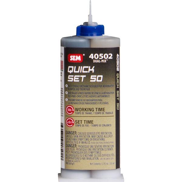 SEM Dual Mix Quick Set 20 Adhesive, 1.7 oz.