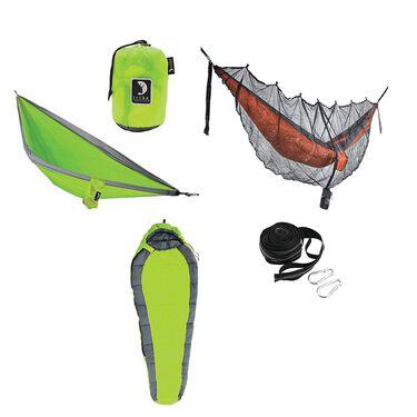 Tribe Provisions Adventure Hammock Kit, Green/Green