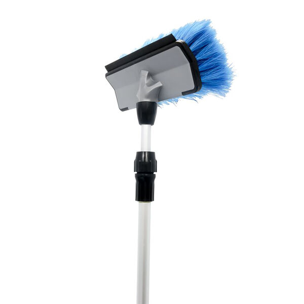 Camco RV Wash Brush with Adjustable Handle