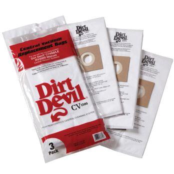 Dirt Devil CV 1500 HEPA-style Replacement Bags, 3-pack