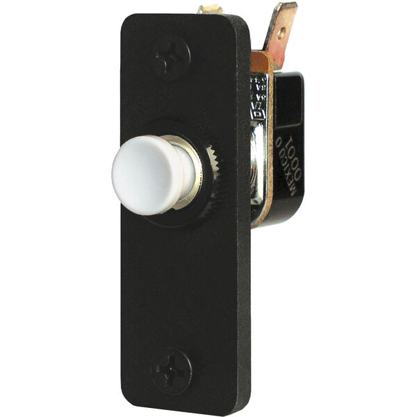 Blue Sea Systems Switch, Push-Button OFF-(ON)