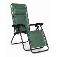 Zero Gravity Chair, Regular, Green Swirl