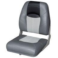 Wise Blast-Off Tour Series High-Back Folding Boat Seat